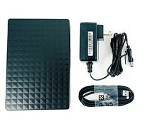 "Lot of 10 Seagate Expansion Desktop 3.5"" USB 3.0 External SATA Drive Case Black"