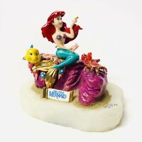 VINTAGE Disney 1992 Ron Lee LITTLE MERMAID Limited Edition Sculpture w/COA Ariel