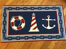 Nautical Runner Rugs For Sale Ebay