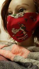 Gesichtsmaske Mund- Nasenabdeckung Maske Erwachsene Nikolaus m. gefülltem Socken