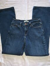 Levis 512 Size 8 Medium Perfectly Slimming Boot Cut Jeans EUC