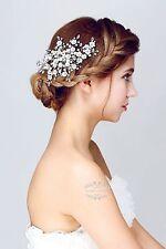 Pearl Wedding Hair Accessories,Bridal Hair Clips,Formal Hair Pins