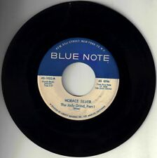 "HORACE SILVER! - ""THE JODY GRIND PART ONE AND TWO"" BLUE NOTE 45 VG- VPI CLEANED!"
