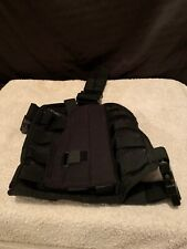 5:11 Combo Package Tactical Adult LBE Right Hand Holster W/ Mesh Thigh Carrier