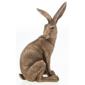 Reflections Bronze Hare Lying Down 27cm