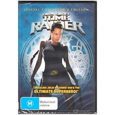 DVD LARA CROFT: TOMB RAIDER Special Collector Edition Angelina Jolie R4 [BNS]