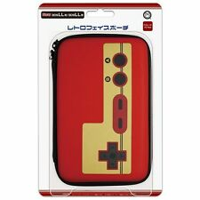 3DS XL RETRO FACE Famicom RED POUCH for new 3DS XL / 3DS XL import Japan NEW!!