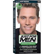 Sólo para hombres Champú en color de cabello para hombres H25 libre de tinte Luz Marrón amoniaco