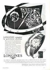 ▬► PUBLICITE ADVERTISING AD LONGINES MONTRE WATCH