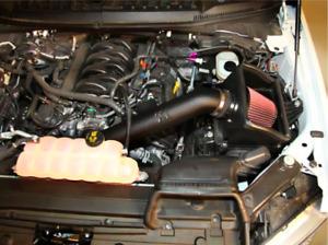 K&N Cold Air Intake Kit Washable Filter For 2015-2019 Ford F150, 5.0L V8 63-2591
