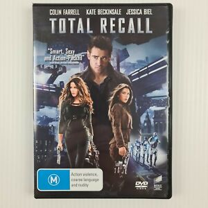 Total Recall - DVD - Colin Farrell - Region 2,4,5 - FREE TRACKED POSTAGE
