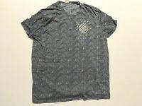 Hollister Short Sleeve California HCO Pattern T-Shirt Men's Large
