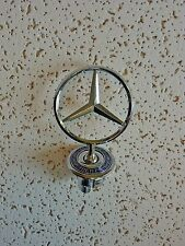New Mercedes Benz Hood Emblem Badge Star Stand Up Front Logo 140-Free Shipping