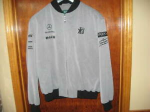 West McLaren Hugo Boss team jacket - GR54 - XL - Mirror Man Logo!!