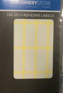 Self Adhesive labels/Stickers/Tags/Shipping Address Small Peel Stick Plain Label