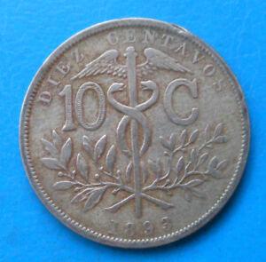 Bolivie Bolivia 10 centavos 1893 km 174.1
