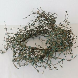 4 Ft Easter Blue Pip Berry Garland Artificial Rope Vine Crafts Wreath Christmas
