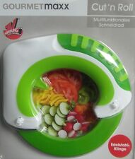 Gourmetmaxx Multifunktionales Cut´n Roll Schneidrad Pizza Schneidrad