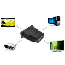DVI D 24+1 25 Pin Male to HDMI Female Converter Gold Plated Adapter For HDTV TV