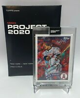 Topps Project 2020 Mike Trout RC Andrew Thiele #35 In Hand w/ Box 2011 Low Pop
