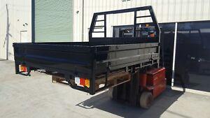 # 25 NEW Heavy Duty Steel Dual Cab Landcruiser Tray