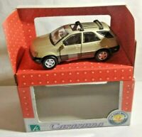 CARARAMA 1:43 SCALE LEXUS RX300 - GOLD - #250007 - BOXED