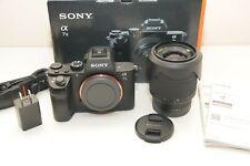 Used Sony Alpha A7 II 24.3MP Digital Camera FE 28-70mm Lens - shutter count 10k