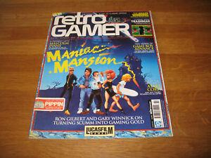 Retro Gamer magazine # 94 issue 94 vintage retro Maniac Mansion cover