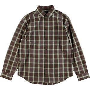 Filson Showroom Sample - Size M - Filson Long Sleeve Sutter Sports Shirt Brown B
