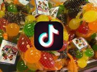 TIK TOK CANDY Dely Gely Fruit Jelly Fruit Licious Jelly TikTok 5 Snack Sampler