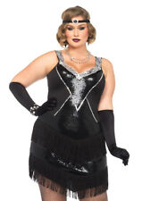 d50364e8f53 Leg Avenue 85474x Plus Size Glamour Flapper Costume 1x-2x