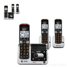 Home Phones Office Cordless 3 Call Systems Extra Large Buttons Eye Display House