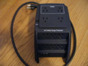 ULTRA 10 OUTLET SURGE PROTECTOR W/PHONE/FAX/MODEM PROTECTION # ULT-31572