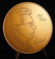 Medal Yvan Francis le Louarn Horse Desclozeaux Cartoonist Standup Medal