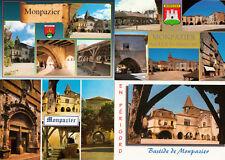 Lot 4 cartes postales DORDOGNE MONPAZIER 2