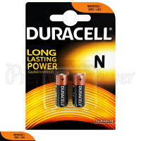 2 x Duracell Alkaline N LR1 1.5V batteries MN9100 E90 AM5 2 in Pack