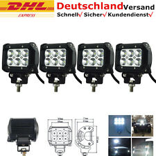 4Stück CREE 18W LKW mit LED Rückfahrscheinwerfer Mähdrescher mit LED 12V Lichter