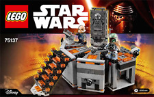 LEGO STAR WARS Instruction Booklet Manual for Set 75137 carbon freezing chamber