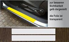 Pellicola protezione trasparente vernice Approcci Porte proprio per Opel Corsa D