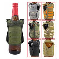 Tactical Beer Vest Military Molle Vest Beverage Cooler Adjustable Shoulder Strap