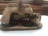 Lilliput Lane Miniature Cottage Thatcher's Rest Excellent England Collection
