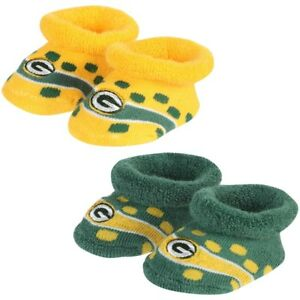 Green Bay Packers Infant Socks Booties