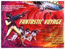 1966 Fantastic Voyage Vintage Sci-Fi Movie Poster Print Style B 18x24 9Mil Paper