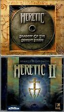 Heretic and Heretic II 2 Pc Both Brand New Win95 or Win98 2 Great Classic Games