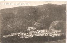 MONTIERI  ( Grosseto )  m. l. 750  -  Panorama......viaggiata 1932