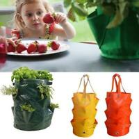 Garden Hanging Planter Grow Bag Plant Pouch Tomato Strawberry Flower Herb-Bags