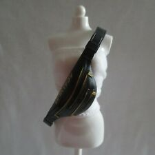 NEW! Barbie BMR1959 Made To Move Ken Doll Black & Gold Fanny Pack Crossbody Bag