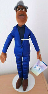 NOW SOLD OUT FROM THE MOVIE SOUL DISNEY STORE TALKING JOE GARDNER SOFT TOY BNWT