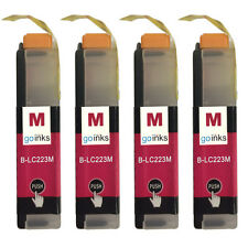 4 Cartuchos de tinta magenta para Brother MFC-J4620DW & MFC-J5620DW