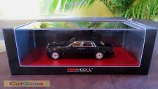 1:43 TrueScale TSM, 2009 Rolls-Royce Phantom, Black, Scale Model Car